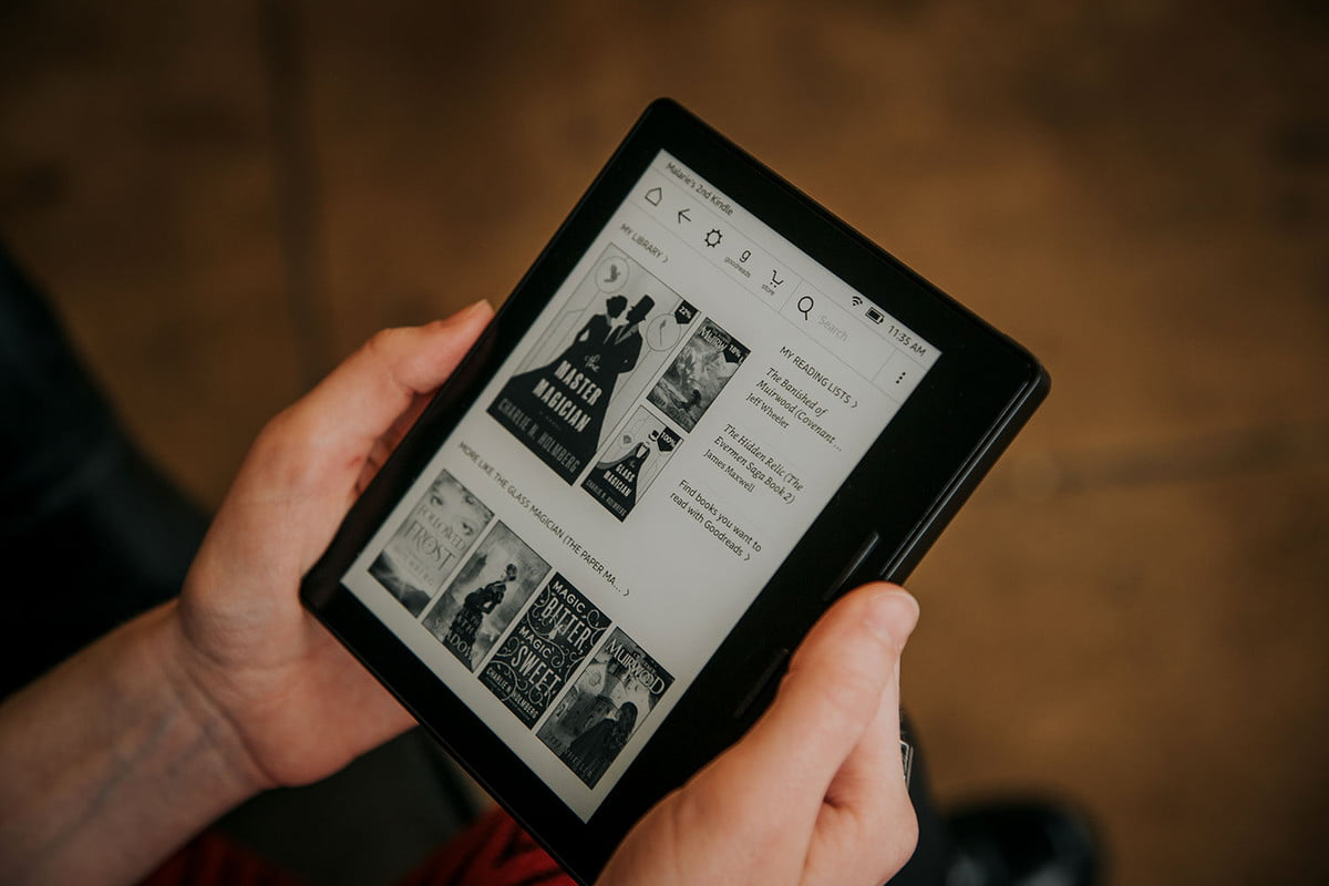 how to update your kindle amazon oasis