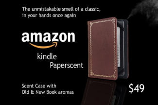 Amazon Kindle Paperscent April Fool