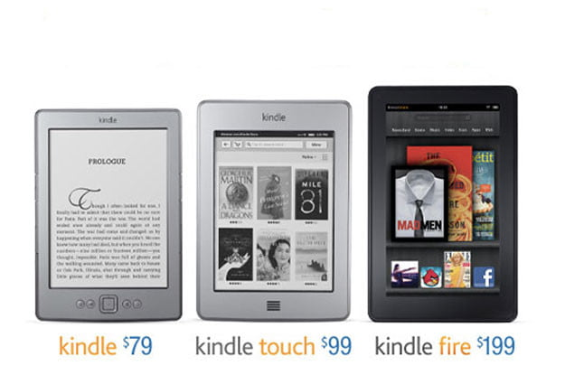 Amazon-Kindle-Trio