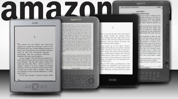 amazon kindles ereaders