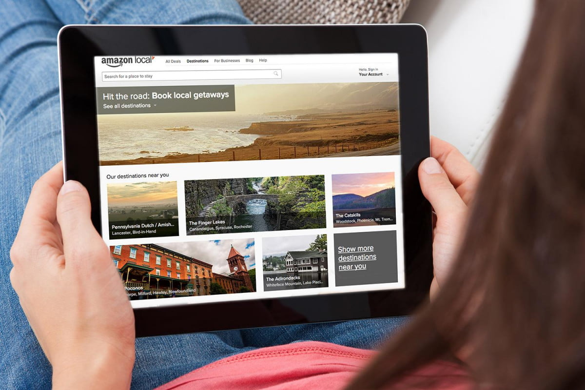 amazon shutters its destinations travel site after just six months