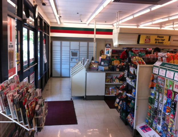 Amazon 7-Eleven in-store locker