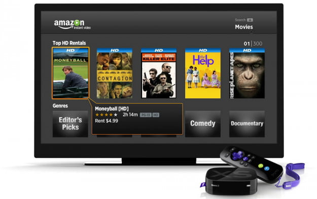 amazon on roku