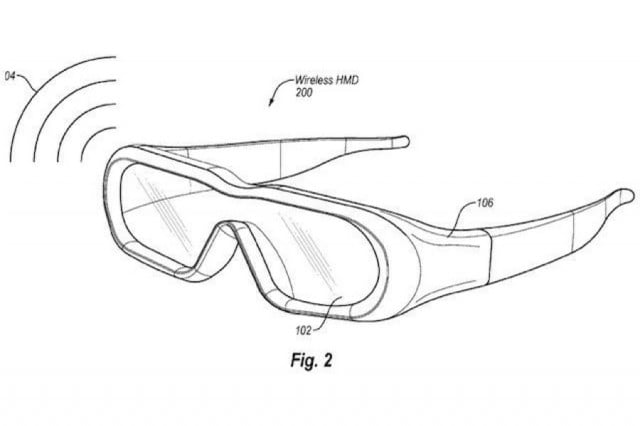 amazon smart glasses patent