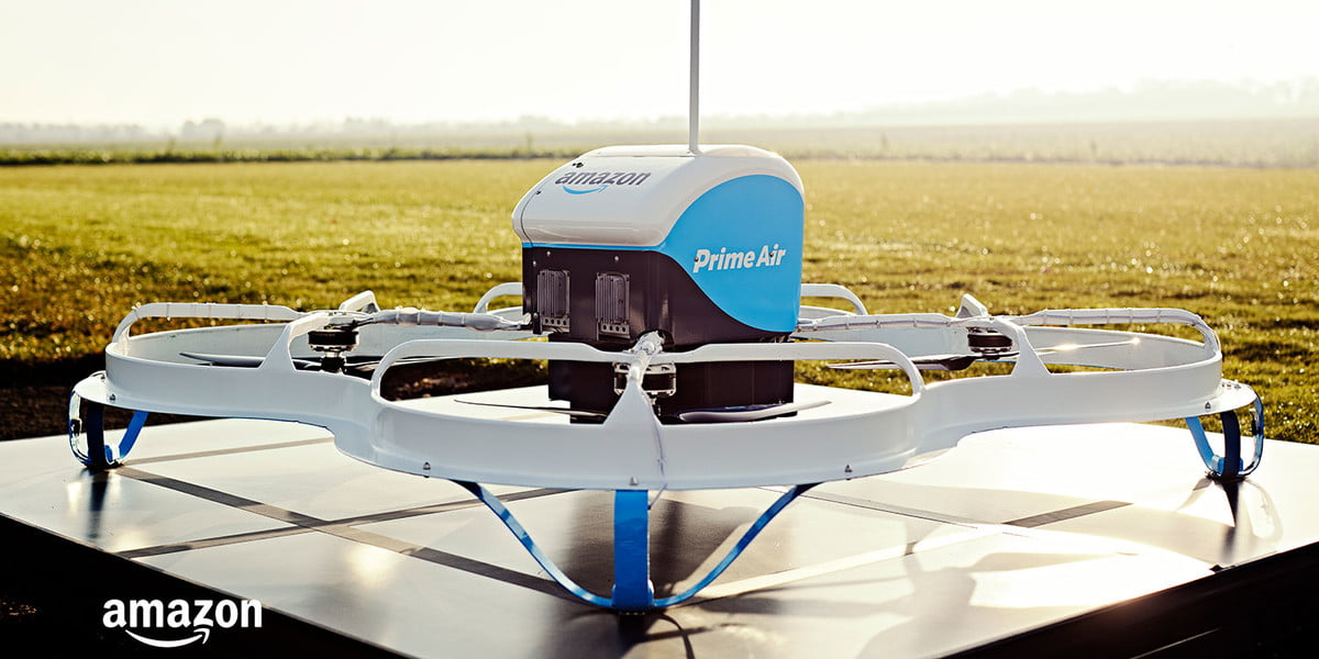 amazon prime air drone super bowl amazons first delivery