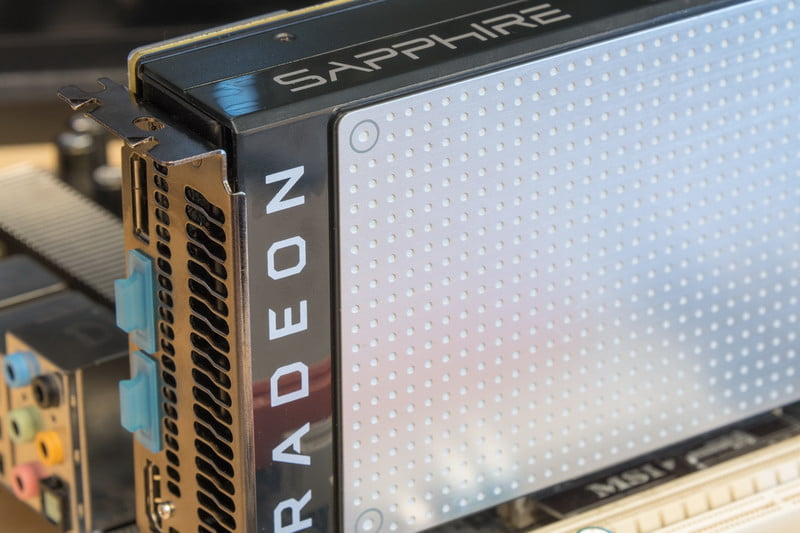 sapphire radeon rx oc review amd