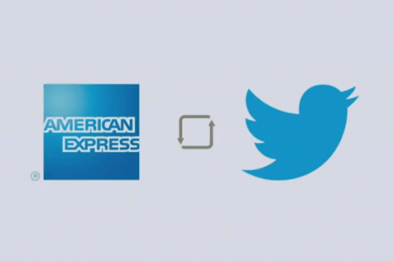 american express and twitter partner