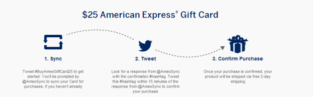 amex gift card from twitter