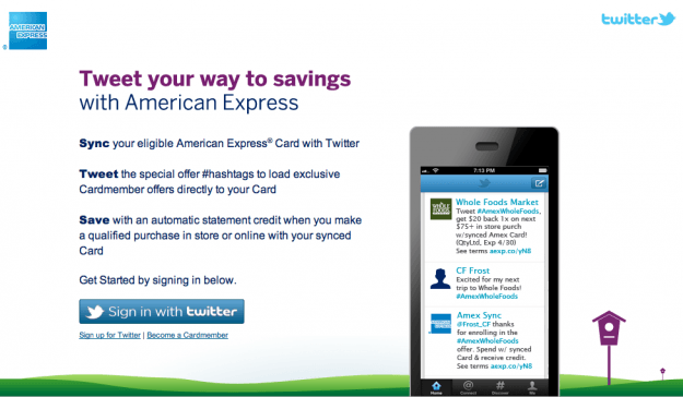 AmEx Savings Program