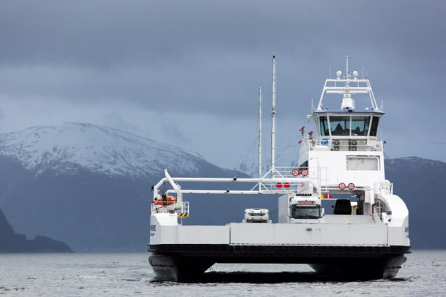 Ampere Ferry Norway