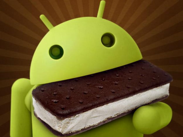Android guy eating Ice Cream Sandwich (made by TechnoBuffalo.com)
