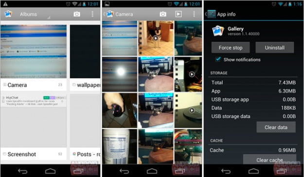 Android 4.2 Gallery App