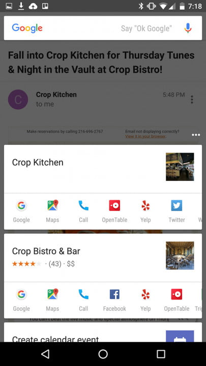 android  marshmallow review restaurants