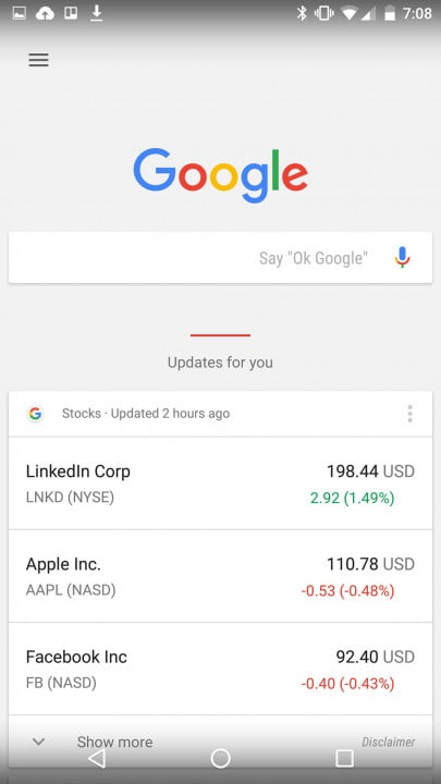 android  marshmallow review stocks