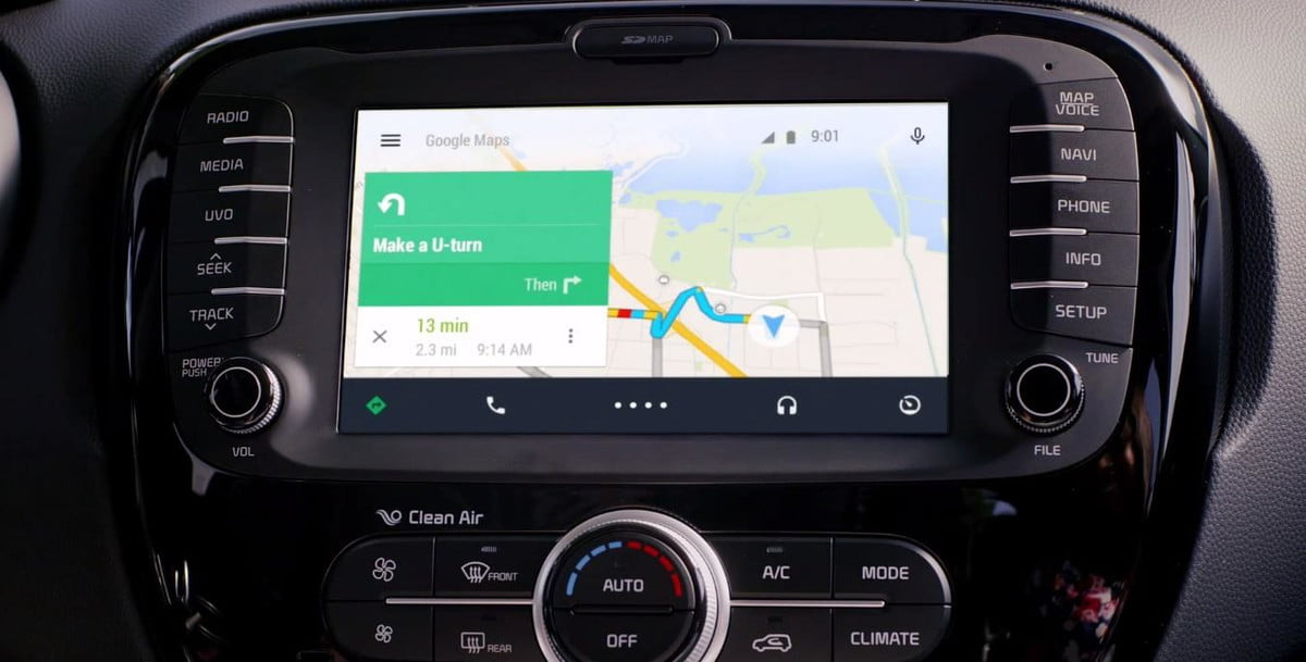android auto will bring google now full smartphone integration dashboard