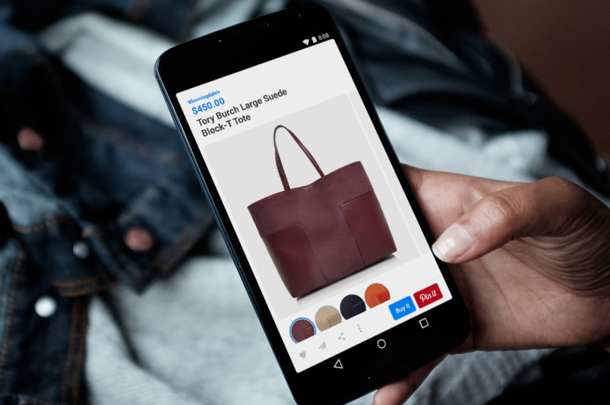 pinterest shop buyable pins android