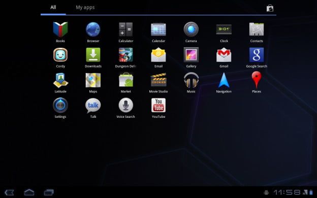 android-honeycomb-apps-menu