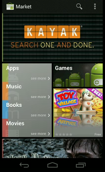 android marketplace music