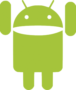 Android mascot happy