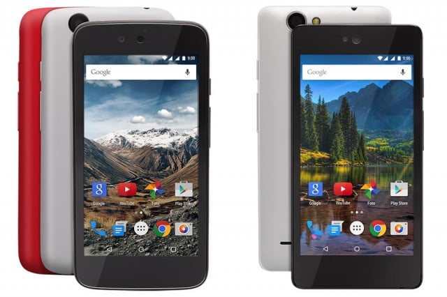 The Nexian Journey (left) and the Mito Impact (right) Android One phones.