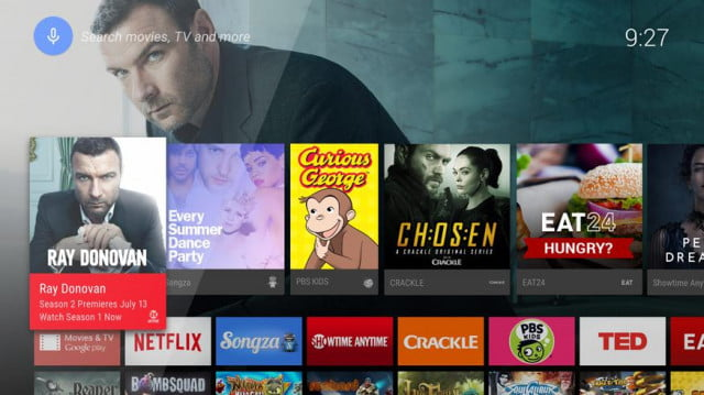 android tv could challenge apple and roku interface