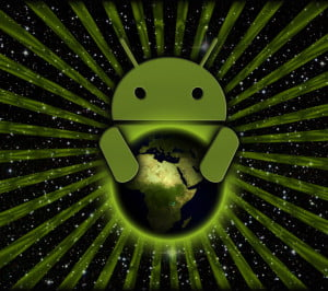 android globe