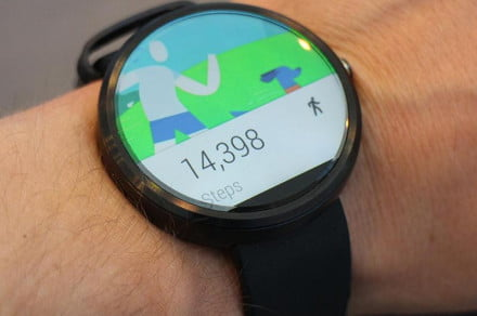 Android Wear arm