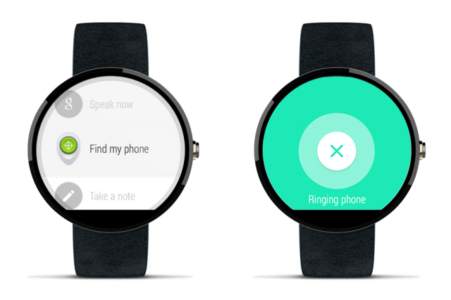 find lost phone with voice android wear your