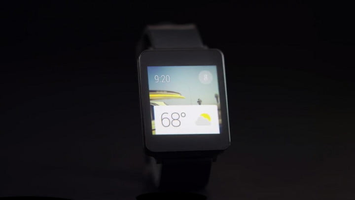 Android Wear rectangle