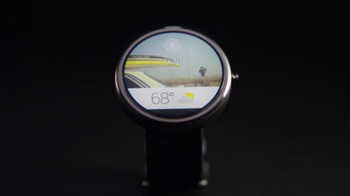 Android Wear round