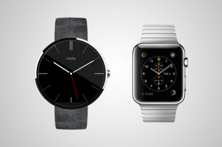 Android Wear vs iWatch Header 2