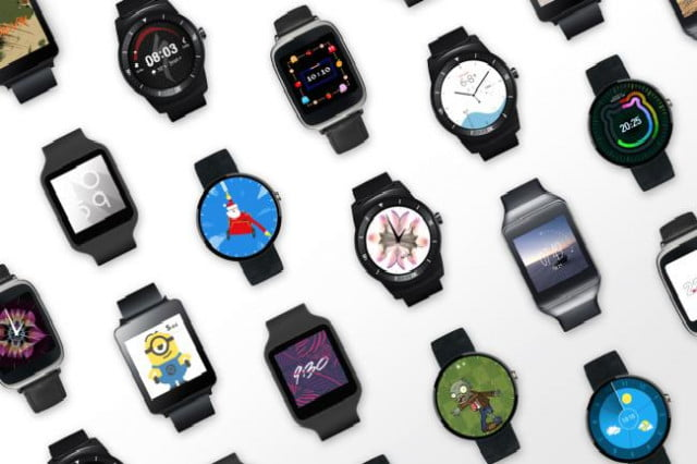 android wear devices shipped in  watch faces