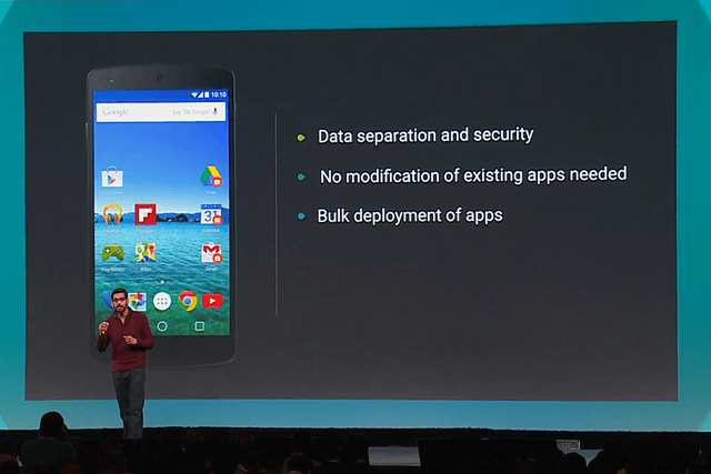 android for work explained