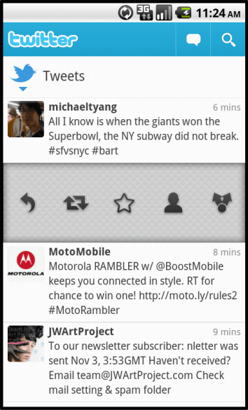 android twitter app