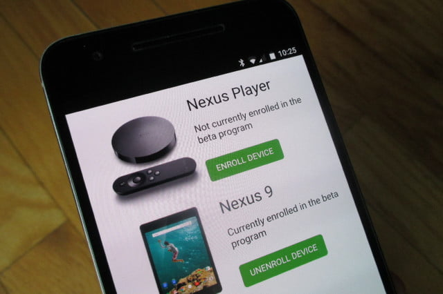 google android beta program news nexus  p
