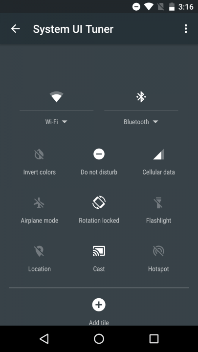 android marshmallow tips and tricks quick settings customize screenshot