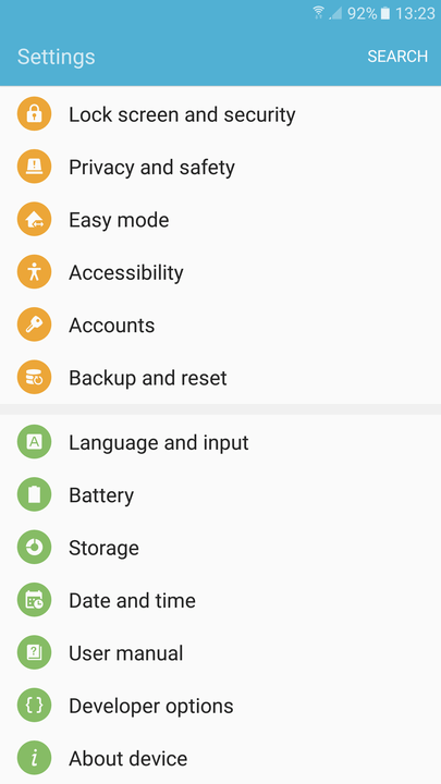 android apps background kill settings