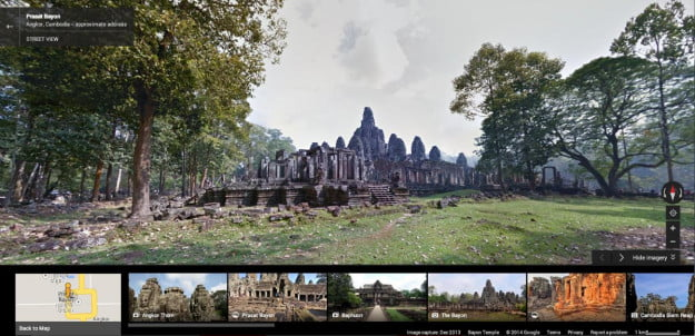 angkor on street view