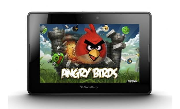 Angry Birds BlackBerry PlayBook