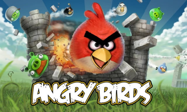 angry birds game logo