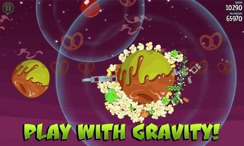 angry birds space hd kindle fire app game