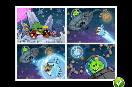 Angry Birds Space screenshots - DT (4)
