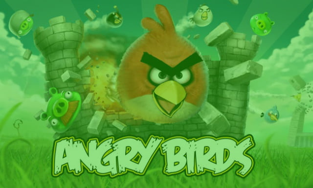 angry birds st patricks day