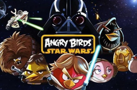 Angry Birds Star Wars title