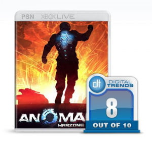 anomaly warzone xbox live playstation network strategy game