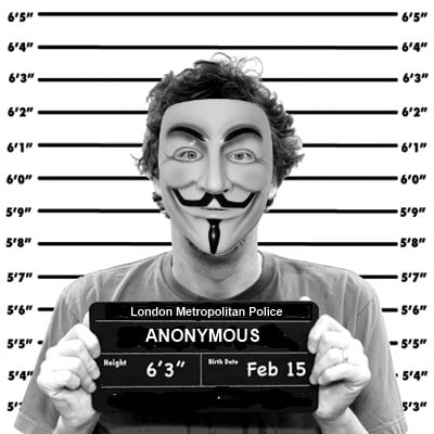 anonymous mugshot