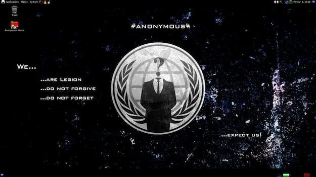 Anonymous-OS Screenshot