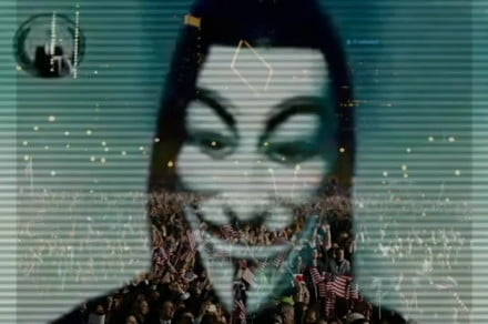Anonymous turns its attention to the U.S. Senate over controversial bill