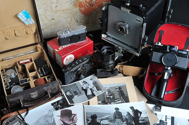 Adams' Arca Swiss 4x5 View Camera was passed on to his long-time assistant Liliane DeCock, and then to her son.