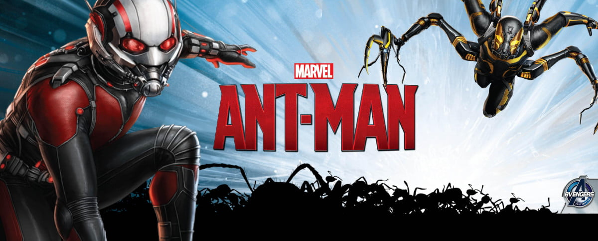 ant man movie banner offers first look yellowjacket